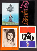 """Movie Posters:Musical, Musical Lot (Various, 1957-1976). One Sheet (27"""" X 41""""), Lobby Card(11"""" X 14"""") and Programs (4) (Various Sizes). Musical.. ... (Total:6 Items)"""