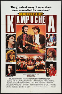 "Concert for Kampuchea (Miramax, 1983). One Sheet (27"" X 41""). Rock and Roll"