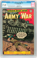 Golden Age (1938-1955):War, Our Army at War #14 (DC, 1953) CGC FN/VF 7.0 Off-white pages....