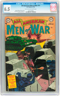 Golden Age (1938-1955):War, All-American Men of War #11 (DC, 1954) CGC FN+ 6.5 Light tan tooff-white pages....