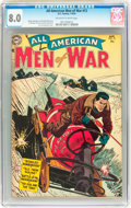 Golden Age (1938-1955):War, All-American Men of War #12 (DC, 1954) CGC VF 8.0 Off-white towhite pages....