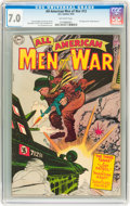 Golden Age (1938-1955):War, All-American Men of War #13 (DC, 1954) CGC FN/VF 7.0 Off-whitepages....