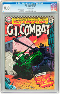 G.I. Combat #120 (DC, 1966) CGC VF/NM 9.0 Off-white pages