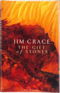 Books:Signed Editions, Jim Crace. The Gift of Stones. London: Secker & Warburg, [1988]. First edition. Signed by the author on the titl...