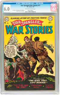 Star Spangled War Stories #11 (DC, 1953) CGC FN 6.0 Off-white to white pages