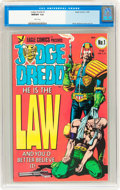 Modern Age (1980-Present):Superhero, Judge Dredd (Eagle) #1 (Eagle, 1983) CGC NM/MT 9.8 White pages....