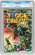 Modern Age (1980-Present):Science Fiction, Judge Dredd #4 (Eagle, 1984) CGC NM/MT 9.8 White pages....