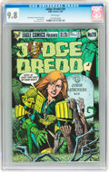 Modern Age (1980-Present):Science Fiction, Judge Dredd #28 (Eagle, 1986) CGC NM/MT 9.8 White pages....