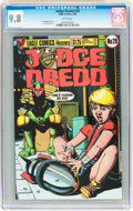 Modern Age (1980-Present):Science Fiction, Judge Dredd #29 (Eagle, 1986) CGC NM/MT 9.8 White pages....