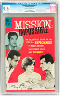 Silver Age (1956-1969):Adventure, Mission: Impossible #1 File Copy (Dell, 1967) CGC NM+ 9.6 Off-white to white pages....
