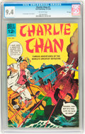 Silver Age (1956-1969):Mystery, Charlie Chan #1 File Copy (Dell, 1965) CGC NM 9.4 Off-whitepages....