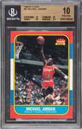 Basketball Cards:Singles (1980-Now), 1986-87 Fleer Michael Jordan #57 BGS Pristine 10 - One of Only Two Known....