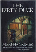 Books:Signed Editions, Martha Grimes. The Dirty Duck. Boston Toronto: Little, Brown and Company, [1984]. First edition. Signed by the aut...