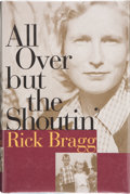Books:Signed Editions, Rick Bragg. All Over But the Shoutin'. New York: Pantheon Books, [1997]. First edition. Signed by the author on ...