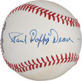 "Autographs:Baseballs, Early 1970's Paul ""Daffy"" Dean Single Signed Baseball...."