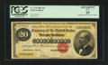 Large Size:Gold Certificates, Fr. 1178 $20 1882 Gold Certificate PCGS Apparent Fine 15.. ...