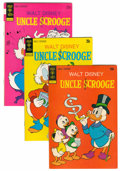 Bronze Age (1970-1979):Cartoon Character, Uncle Scrooge File Copies Group (Gold Key, 1973-80) Condition:Average VF.... (Total: 69 Comic Books)