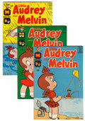 Bronze Age (1970-1979):Humor, Little Audrey and Melvin File Copies Group (Harvey, 1962-73)Condition: Average VF+.... (Total: 53 Comic Books)