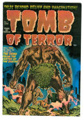 Golden Age (1938-1955):Horror, Tomb of Terror #1 (Harvey, 1952) Condition: FN/VF....