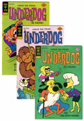 Bronze Age (1970-1979):Cartoon Character, Underdog File Copies Group (Gold Key, 1976-79) Condition: AverageVF+.... (Total: 13 Comic Books)