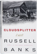 Books:Signed Editions, Russell Banks. Cloudsplitter. A Novel. [New York]: HarperFlamingo / An Imprint of HarperCollins Publishers, [199...