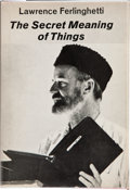 Books:First Editions, Lawrence Ferlinghetti. The Secret Meaning of Things. [NewYork]: A New Directions Book, [1968]. First edition. Publi...
