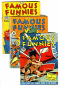 Golden Age (1938-1955):Miscellaneous, Famous Funnies #85-94 Group (Eastern Color, 1941-42) Condition: Average FN except as noted.... (Total: 10 Comic Books)