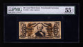 Fractional Currency:Third Issue, Fr. 1328 50¢ Third Issue Spinner PMG About Uncirculated 55 EPQ.. ...