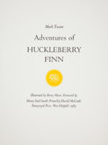 Books:Signed Editions, [Pennyroyal Press]. [Barry Moser]. A Suite of Signed Illustrationsfrom Adventures of Huckleberry Finn. West Hat...