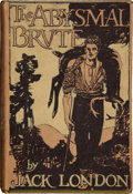 Books:First Editions, Jack London. The Abysmal Brute. New York: The Century Co., 1913.. First edition, first state binding. Twelvemo...