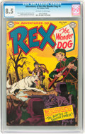 Golden Age (1938-1955):Miscellaneous, Adventures of Rex the Wonder Dog #4 (DC, 1952) CGC VF+ 8.5 Off-white to white pages....
