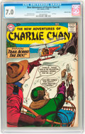 Silver Age (1956-1969):Mystery, The New Adventures of Charlie Chan #6 Mohawk Valley pedigree (DC,1959) CGC FN/VF 7.0 Cream to off-white pages....