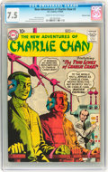 Silver Age (1956-1969):Mystery, The New Adventures of Charlie Chan #3 Mohawk Valley pedigree (DC,1958) CGC VF- 7.5 Cream to off-white pages....