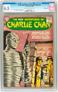 Silver Age (1956-1969):Mystery, The New Adventures of Charlie Chan #2 Mohawk Valley pedigree (DC,1958) CGC FN+ 6.5 Cream to off-white pages....