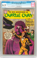 Silver Age (1956-1969):Mystery, The New Adventures of Charlie Chan #1 (DC, 1958) CGC FN+ 6.5 Creamto off-white pages....