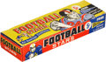 Football Cards:Boxes & Cases, 1961 Nu-Card Football Counter Display Wax Box With 24 Packs. ...