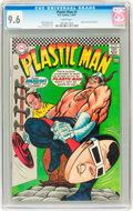 Silver Age (1956-1969):Superhero, Plastic Man #5 (DC, 1967) CGC NM+ 9.6 White pages....