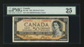 Canadian Currency: , BC-34b $50 Devil's Face 1954. ...