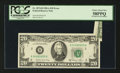 Error Notes:Foldovers, Fr. 2074-B $20 1981A Federal Reserve Note. PCGS Choice About New58PPQ.. ...