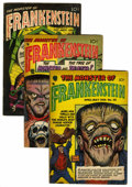 Golden Age (1938-1955):Horror, Frankenstein Comics #30, 31, and 33 (Prize, 1954).... (Total: 3Comic Books)