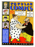 Platinum Age (1897-1937):Miscellaneous, Popular Comics #15 (Dell, 1937) Condition: FN+....