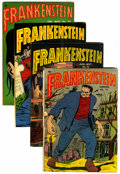 Golden Age (1938-1955):Horror, Frankenstein Comics Group (Prize, 1952-53).... (Total: 4 ComicBooks)