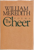 Books:Signed Editions, William Meredith. The Cheer. New York: Alfred A. Knopf, 1980. First edition. Signed by the author on the title pag...