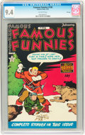 Golden Age (1938-1955):Miscellaneous, Famous Funnies #198 File Copy (Eastern Color, 1952) CGC NM 9.4 Off-white pages....