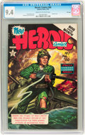 Golden Age (1938-1955):War, Heroic Comics #80 File Copy (Eastern Color, 1953) CGC NM 9.4 Creamto off-white pages....