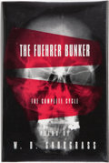 Books:Signed Editions, W. D. Snodgrass. The Fuehrer Bunker. The Complete Cycle. Poems. Brockport, N.Y.: BOA Editions, 1995. First editi...