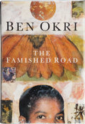 Books:First Editions, Ben Okri. The Famished Road. London: Jonathan Cape, [1991].First edition. Publisher's original binding and dust jac...