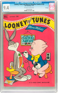 Golden Age (1938-1955):Cartoon Character, Looney Tunes and Merrie Melodies Comics #133 File Copy (Dell, 1952)CGC NM 9.4 Off-white to white pages....