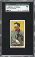 Baseball Cards:Singles (Pre-1930), 1909-11 T206 Sweet Caporal Mordecai Brown, Chicago On Shirt SGC 84NM 7 - Pop 1, None Higher. ...