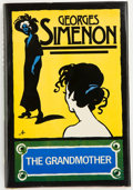 Books:First Editions, Georges Simenon. The Grandmother. Translated by JeanStewart. New York London: A Helen and Kurt Wolff Book / Harcour...